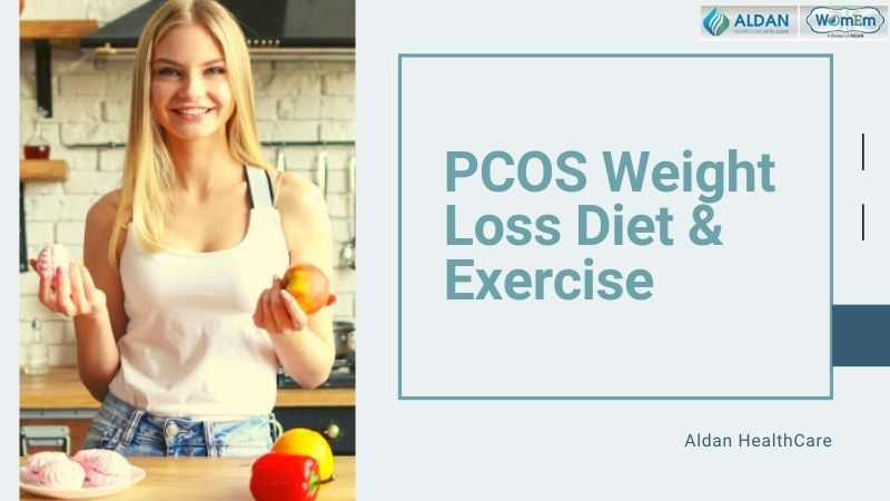 PCOS weight loss diet and exercise
